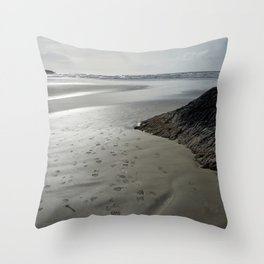 incinerator steps Throw Pillow