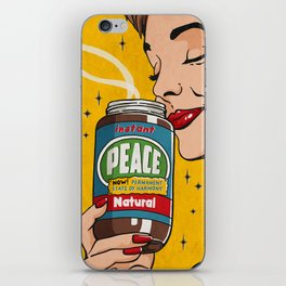 Instant Peace iPhone Skin