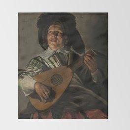 "Judith Leyster ""The Serenade"" Throw Blanket"