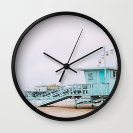 Enjoying Beach Life Wall Clock
