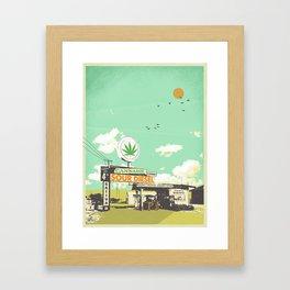 SOUR DIESEL Framed Art Print