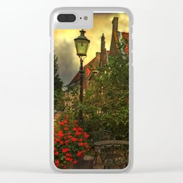 Woudrichem- a small town in the middle of the Netherlands Clear iPhone Case