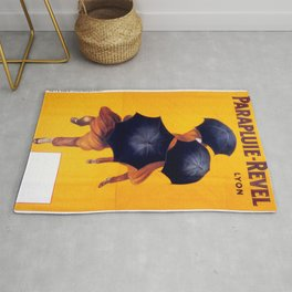 Poster vintage french Parapluie Revel Rug