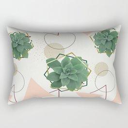 Lovely Succulents #redbubble #decor #buyart Rectangular Pillow