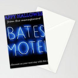 Bates Motel Halloween card Stationery Cards