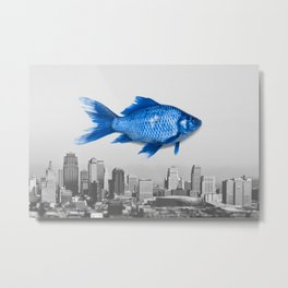City Fish Metal Print