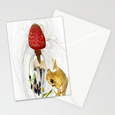 Mr Frog and the Toadstool. Stationery Cards