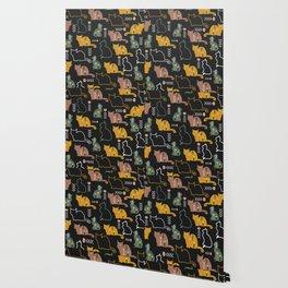 Cat decor Wallpaper