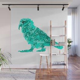 Kea Strut - Turquoise Wall Mural