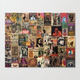 Rock'n Roll Stories Canvas Print