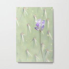 """""""Desert Wildflower"""" Metal Print"""