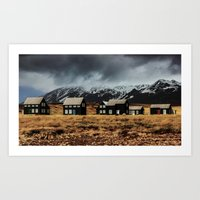 iceland Art Prints featuring Iceland by EclipseLio