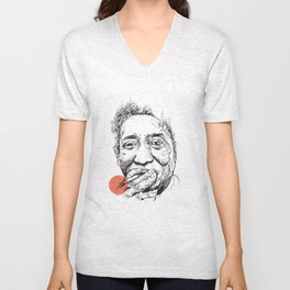 Muddy Waters - Get your mojo! Unisex V-Neck