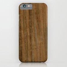Etomie (Flat Cut) Wood Slim Case iPhone 6s