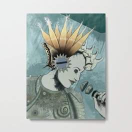 Queenflowers Metal Print