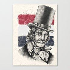 The Butcher Canvas Print