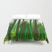 china Duvet Covers featuring China  by Saundra Myles