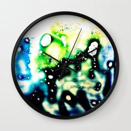 Ink Splat Wall Clock