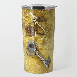 Key and Book Travel Mug