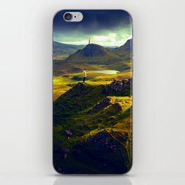 The Mountain Men at Isle Of Skye iPhone Skin