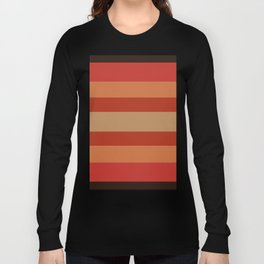 Earthy Terracotta - Color Therapy Long Sleeve T-shirt