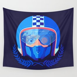 Lightspeed Racer Wall Tapestry