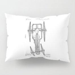 patent art Baker Velocipede 1883 Pillow Sham