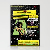 "hentai Stationery Cards featuring Space Chick & Nympho: Vampire Warrior Party Girl Comix #1 - Comic Book Page "" In A Galaxy Not So Far by Tex Watt"