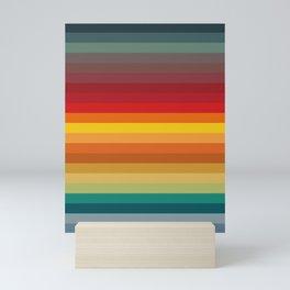 Color pattern Mini Art Print