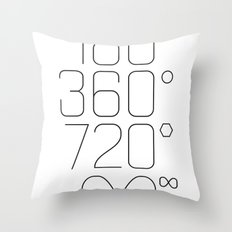 Shapes & Angles Throw Pillow
