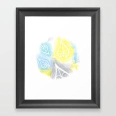 Leafs Framed Art Print