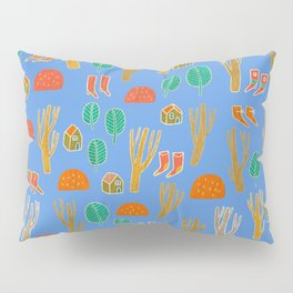 Pattern Project #3 / Forest Life Pillow Sham