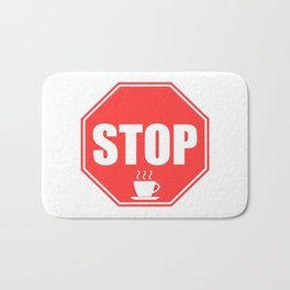 STOP Bath Mat