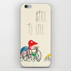 Bike is Life iPhone Skin