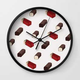 Curd snack Wall Clock