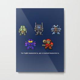 Jaegers Metal Print
