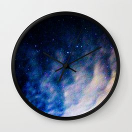 space waves Wall Clock
