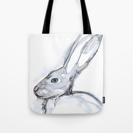 Rabbit, profile Tote Bag