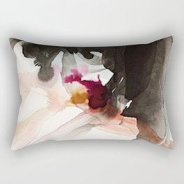 Day 22: There is newness in every moment. The good and bad come all at once. Rectangular Pillow