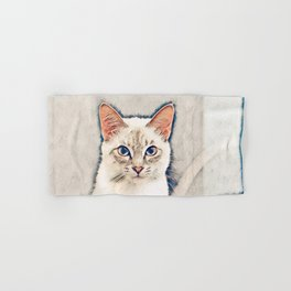 I am Boss! - Cat Attitude Hand & Bath Towel