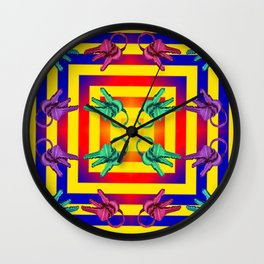 phychedelic Wall Clock