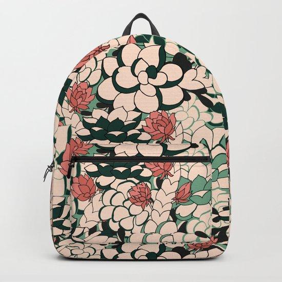 Agave Scculent Backpack