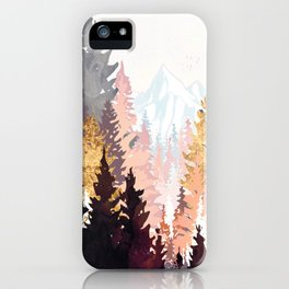 Wine Forest iPhone Case