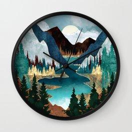 River Vista Wall Clock