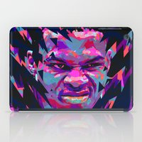 nba iPad Cases featuring RUSSELL WESTBROOK: NBA ILLUSTRATION V2 by mergedvisible