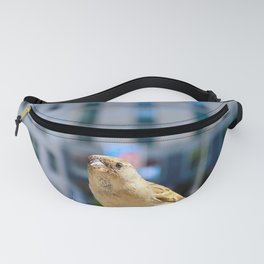 City Bird Lovely Sparrow Fanny Pack