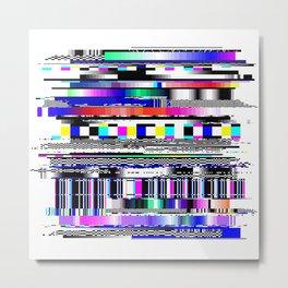 Glitch Ver.1 Metal Print