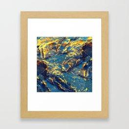 GOLDMINE Framed Art Print