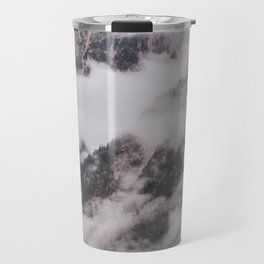 Fog in the Cascades Travel Mug