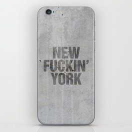 New York iPhone Skin